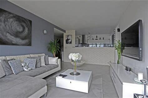 decoration sejour gris et blanc salon gris blanc salon salons