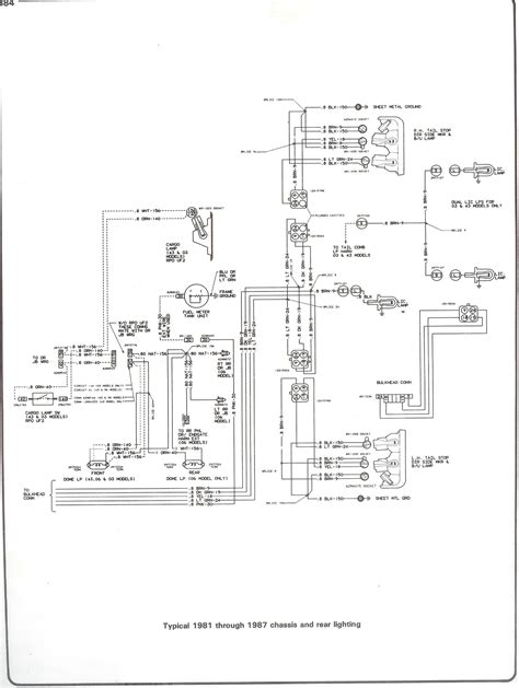 73 Chevy C10 Wire Diagram by Third Brake Light The 1947 Present Chevrolet Gmc