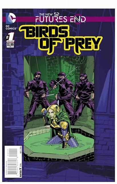 Comics Prey Birds Dc End Futures 3d