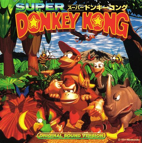 Super Donkey Kong Original Sound Version