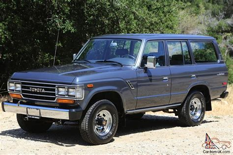 As New 1988 Toyota Land Cruiser Fj62 Automatic 73k Miles