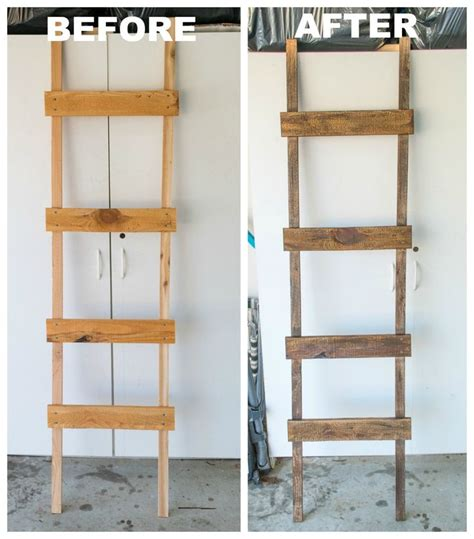 How To Make A Rustic Ladder For Under $20  Rustic Ladder