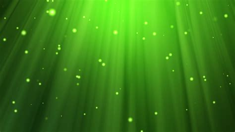 Relaxing Green Background  Light Rays Stock Video