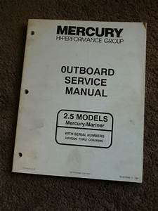 Purchase Mercury Outboard Racing Hi Performance 2 5 245