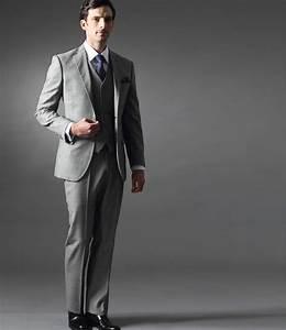 Costume 3 Pièces Gris : costume gris clair 3 pi ces ~ Dallasstarsshop.com Idées de Décoration