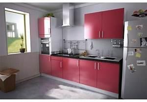 une cuisine aligne pour entrer dans un petit espace With cuisine equipee petit espace