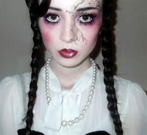 Broken porcelain doll makeup. | Halloween Costume Ideas ...