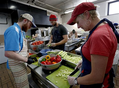 soup kitchen  fed hungry  uptown    years