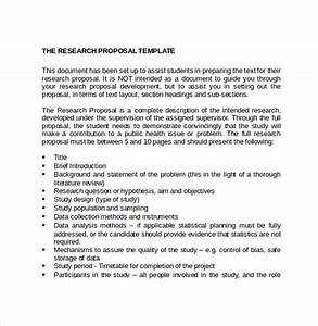 Research Paper Proposal Format Topic For Proposal Research Project