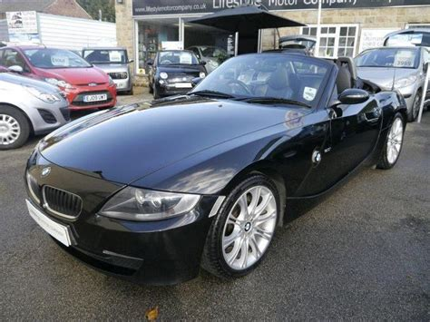 Used 2006 Bmw Z4 Convertible Black Edition 2.0i Sport 2dr