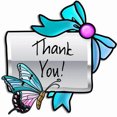 Thank Clip Icon Clipart Stickers Thankyou Butterflies