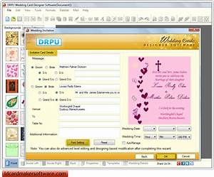 screenshots of wedding card maker software to design With wedding cards creator online
