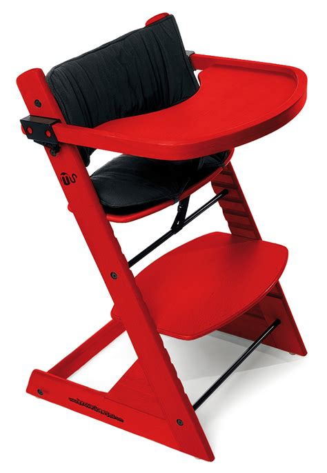 chaise haute bébé en bois innovaciones ms advance