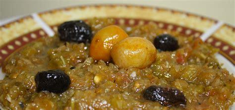 recette slata mechouia tunisienne salade grillée
