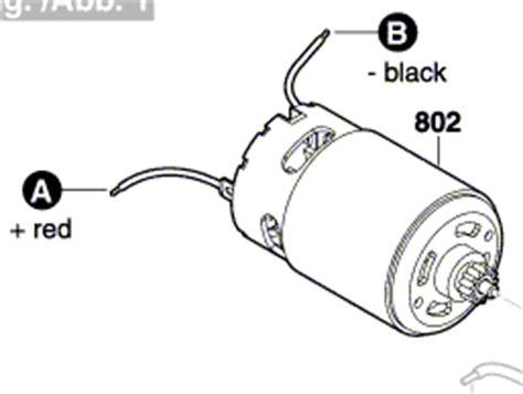 ersatzmotor bosch akkuschrauber bosch original ersatz elektromotor nr 2 609 005 257