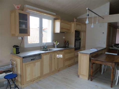 cuisine bois naturel cosson meubles fabrication de meubles meublant cournon d