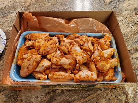 I use kirkland signature (costco brand) parchment paper and it never sticks. Costco Garlic Chicken Wings / Seriously Crispy Oven Baked ...