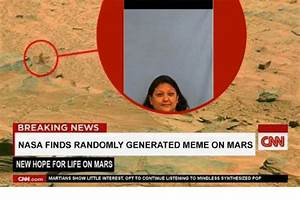 BREAKING NEWS CNN NASA FINDS RANDOMLY GENERATED MEME ON ...
