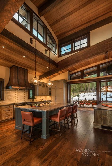 awesome barndominium designs  inspire  home kitchens rustic house wood home decor