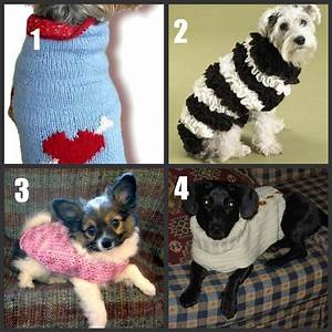 Crochet Knit Pattern Dog Sweater | Free Patterns For Crochet
