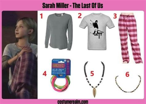 Best The Last Of Us Sarah Miller Costume Guide