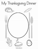 Coloring Thanksgiving Dinner California Outline Built Twistynoodle Usa sketch template