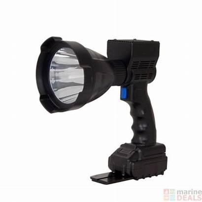 Spotlight Handheld Led Rechargeable Powerful Boat Marine