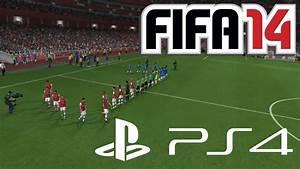 FIFA 14 - Playstation 4 Gameplay - Arsenal London vs ...