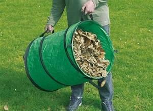 Sac A Dechet Vert : sac de d chets verts repliable 116l nortene jardideco ~ Dailycaller-alerts.com Idées de Décoration