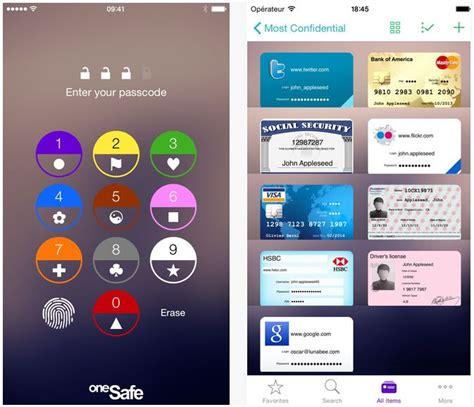 coffre fort mot de passe gratuit bon plan le gestionnaire de mots de passe onesafe gratuit sur l app store au lieu de 4 99
