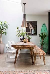 Banquette Salle A Manger : la table de salle manger en 68 variantes ~ Premium-room.com Idées de Décoration