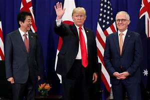 Trump meets Japan, Australia leaders, discusses trade ...