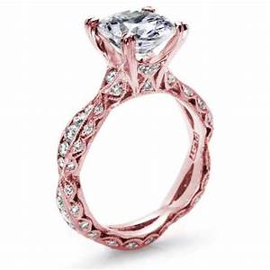 Rose gold ring rose gold ring tacori for Tacori wedding rings rose gold