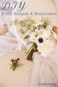 diy wedding bouquet wedding bells diy bridal bouquet and boutonnière conrad
