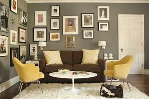 Graue Wand Wohnzimmer : farbideen f r wohnzimmer 36 neue vorschl ge ~ Indierocktalk.com Haus und Dekorationen