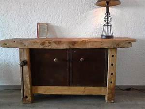 Meuble Bois Fer : meuble style industriel d coration d co bois et m tal fer objets d co ch ne ~ Melissatoandfro.com Idées de Décoration