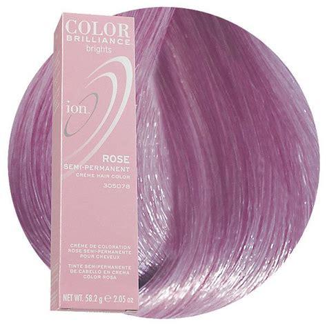 rose semi permanent hair color ion hair colors semi