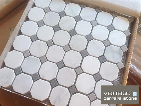 carrara venato gray dot mosaic floor and wall tile the builder depot