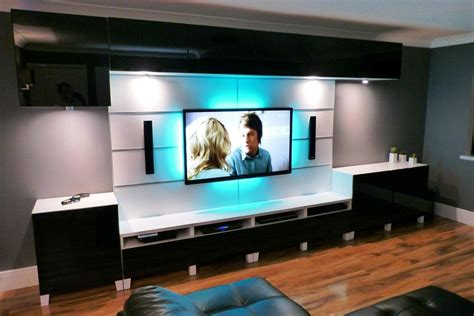 bookshelf with glass living room tv stand ideas brown fabric curtain