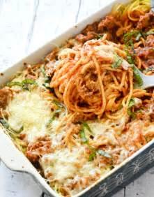 Baked Spaghetti Casserole Cream Cheese