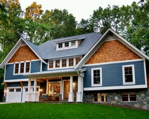 tri level home remodel a tri level split home tri level remodel pinterest craftsman remodel red houses