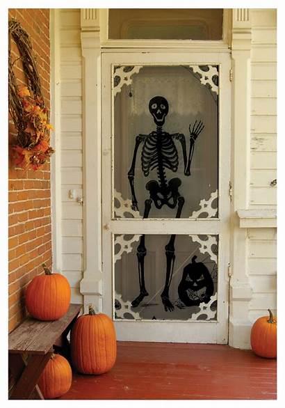 Halloween Decoration Decorations Door Backdrop Gothic Skeleton