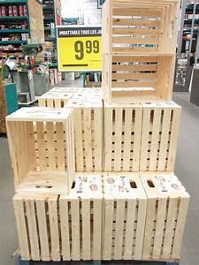 Cagette En Bois : o trouver des caisses de bois pour sa d co d conome ~ Teatrodelosmanantiales.com Idées de Décoration
