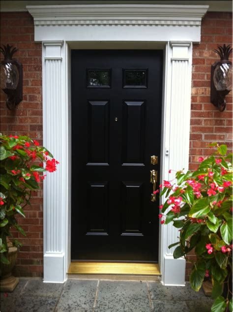 New Front Door And Frame by Front Door Trim Images Provia Front Door And Fypon Trim