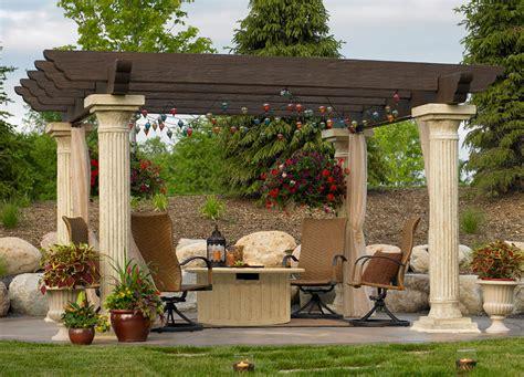 Mediterrane Terrasse Ideen by Mediterranean Garden With Pergola And Yellow Walls