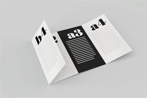 A Collection Of Free Psd Brochure Mockups A Collection Of Free Psd Brochure Mockups