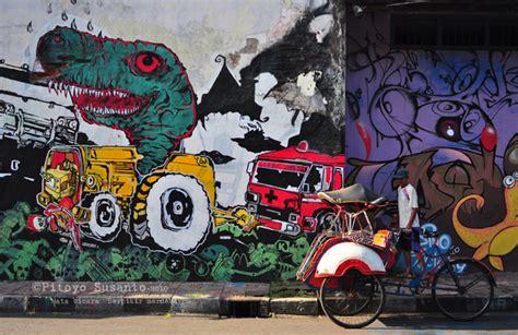 Grafiti Jogja :  Wujud Kebersamaan Dan Kepedulian Melalui
