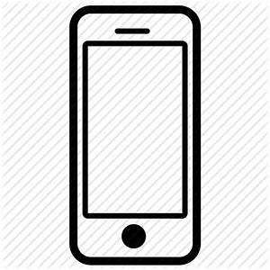 Cell Phone Clipart Black And White – 101 Clip Art