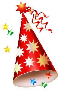 Happy Birthday Party Hats Clip Art Transparent
