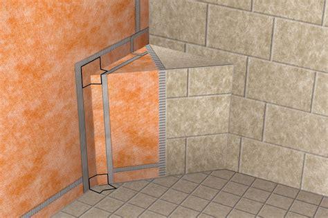 schluter kerdi schluter 174 kerdi kereck f kers b waterproofing shower system schluter com